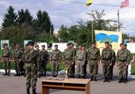 На Житомирщині прикордонники змагалися у вправності. Фото