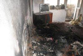 У Житомирській області чоловік спалив власну квартиру