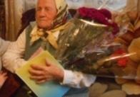 У Житомирській області бабця відзначила 100-річчя, каже, що все залежить від Бога