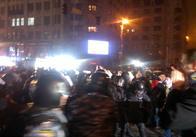 На Майдані відбулась сутичка з міліцією. Відео