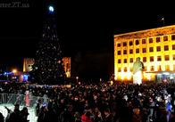 В новорічну ніч в центрі Житомира влаштують дискотеку