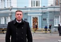 Інтерв'ю з Юрієм Мойсеєвим після сесії житомирської міської ради, яка не відбулась