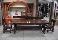 Деревянные столы для дачи, сада, кафе, ресторана, паба, бара. Фото