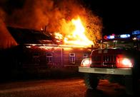 У Житомирській області згоріла хата, підключена господарями до високовольтного стовпа