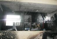 У Житомирі згоріло кафе. Фото