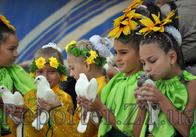 Как дети Житомира поздравляли город с Днем рождения (фоторепортаж)