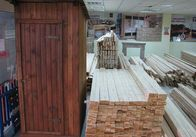 Туалет деревянный разборный, душевая деревянная кабинка, деревянная бытовка
