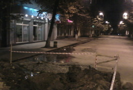У Житомирі на Михайлівській ріки та водоспади. Водоканал ремонтує, а хто платитиме? Фото. Відео