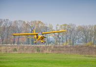 Для моніторингу житомирського кордону чоловік на власному літаку пролетів 300 км