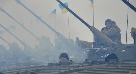 В Озерному показали боєкомплект української армії (фото)
