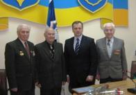 Сьогодні Володимир Дебой привітав ветерана-ювіляра з 80-річчям