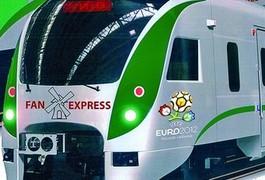 До Євро-2012 суперпоїзди поїдуть на швидкості 160 км/год