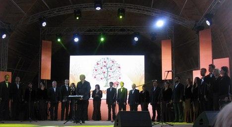 У Житомирі на Спаса пройшов фестиваль імені Володимира Шинкарука