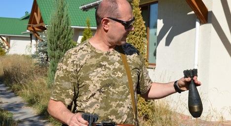 На Луганщині житомирські правоохоронці вилучили арсенал зброї