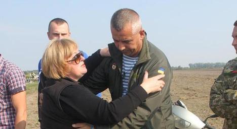 У Бердичів на річницю загибелі кіборга приїхали побратими з 95-ї бригади