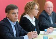 """Сухомлин, Чиж і Буравков зустрілися на """"вільному мікрофоні"""" у Житомирі"""