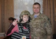 Учні ЗОШ №14 Житомира зустрілися з учасником АТО, який закінчив цю школу