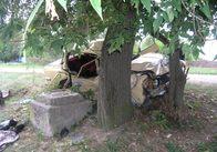Одне ДТП – два трупи: водій «Москвича» проігнорував заокруглення дороги