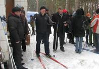 Всі на лижі, поки сніг, мер на лижах вже побіг!