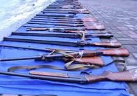 На Житомирщині за два тижні добровільно здали майже 100 одиниць зброї та понад 1000 боєприпасів