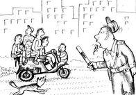 Після першого листопада у Житомирі власників незареєстрованих мопедів штрафуватимуть по повній програмі!