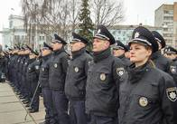 Нова патрульна поліція Житомира склала присягу. ФОТО