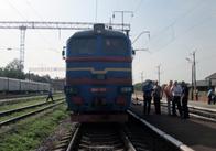 На Житомирщині під потягом загинув чоловік