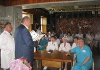 Нардеп Борислав Розенблат привітав житомирських медиків грамотами Верховної Ради та розповів про свій новий законопроект