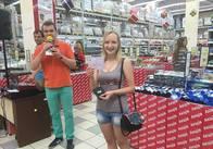 Жительница Любарского района Житомирской области Нечипорук Валентина выиграла главный приз от Coral Travel в Житомире — подарочный сертификат на отдых