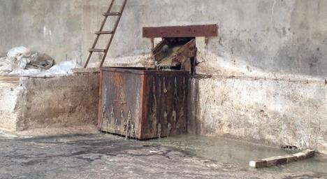 Олена Галагуза занюхала сморід на житомирському шкірзаводі
