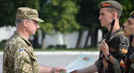 148 курсантів присягнули Україні в Житомирському військовому інституті імені С.П. Корольова
