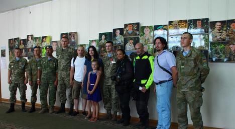 Італійські фотографи у Житомирі спілкувалися з українськими воїнами