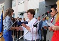 Анжеліка Лабунська вручила першокурсникам ЖДТУ студентські квитки