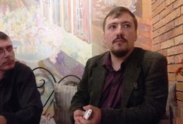 Художник Дмитро Раков показав свою персональну виставку у Житомирі. Фото