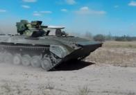 Військові оприлюднили відео модернізованої БМП від житомирських інженерів