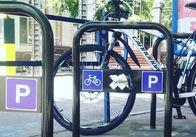 У Житомирі встановили більше 100 комунальних велопарковок