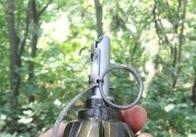 На Житомирщині на гранаті підірвався поліцейський