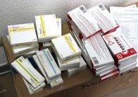 Медзаклади Житомира та області вдруге отримали безкоштовно ліки. Фото. Відео