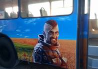 ТТУ Житомира запустило патріотичний тролейбус. Фото