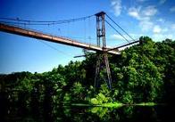 У Житомирі 28-річний чоловік хотів стрибнути з підвісного моста
