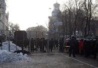 В центрі Києва металошукачі, огорожі та багато поліції - в очікуванні акцій. Фото