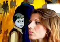 Член Союзу художників Лапландії показала в Українському домі свої роботи. Фото