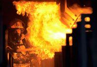 На Житомирщині пожежники гасили склад ветлікарні з отрутохімікатами та сіном