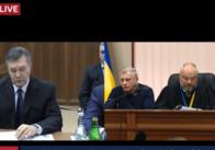 Почався допит Януковича. Онлайн трансляція