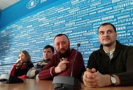 Житомирських журналістів повезли на екскурсію до Києва. Фото
