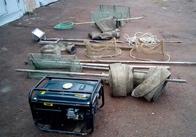 На Житомирщині затримали трьох рівненчан із помпами для видобутку бурштину