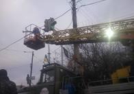 На перехресті Східної та Незалежності встановлюють нові світлофори. Фото