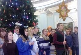 До чиновників міської ради Житомира прийшли щедрівники з усієї України