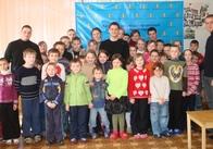 Житомирська молодь відвідала хворих на туберкульоз дітей