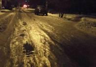 """Житомиряни продовжують скаржитись на """"льодові"""" дороги. Фото"""